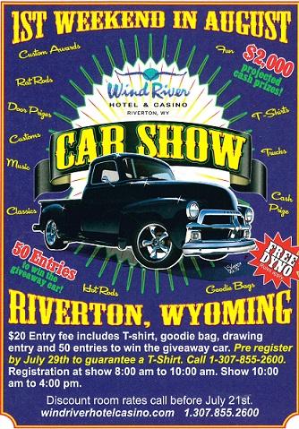 Car Show At Wind River Hotel Casino